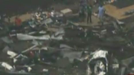 Two-mile-wide tornado slams Oklahoma City area, killing at least 10   Breaking Alternative News   Scoop.it