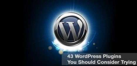 43 Powerful Blog Marketing WordPress Plugins | Agrobrokercommunitymanager | Scoop.it