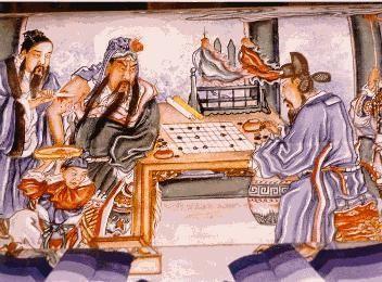 Les cinq empereurs et le jeu de go   Go: The Ultimate Game   Scoop.it