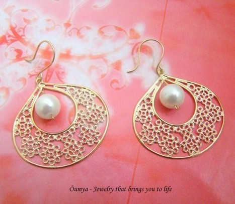 Pearl Glamsham - Craftsia - Indian Handmade Products & Gifts | Indian Handmade Jewelry | Scoop.it