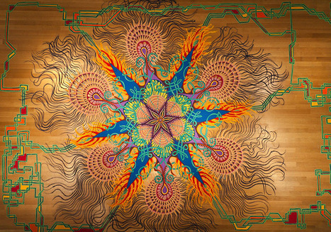 Spontaneous Temporary Sand Paintings by Joe Mangrum | Random Acts of Kindness, Senseless Acts of Beauty | Scoop.it