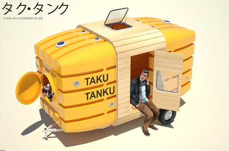 Taku-Tanku >> The Fantabulous Tiny, Portable, Floating, Greener, Towable House Solution | GO Sustainable GO Versatile | Scoop.it