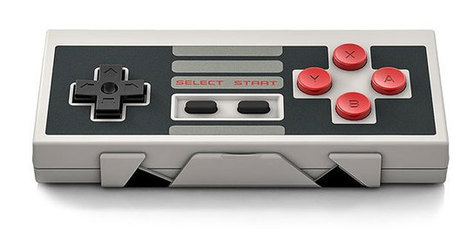 Manette de jeu retro sans fil NES30 - Geek | News geek | Scoop.it
