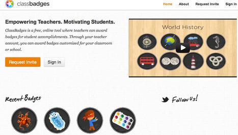 ClassBadges | IKT och iPad i undervisningen | Scoop.it