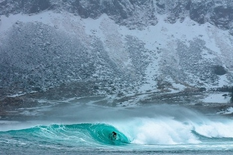 Incredible, Awe-Inspiring Footage Of Surfers Riding Waves In The Arctic Circle - DesignTAXI.com | Inspiration: Imagine. See the possibilities. | Scoop.it