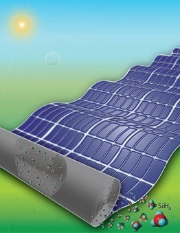 Under Pressure: New technique could make large, flexible solar panels more feasible — Eberly College of Science | STEM Education models and innovations with Gaming | Scoop.it