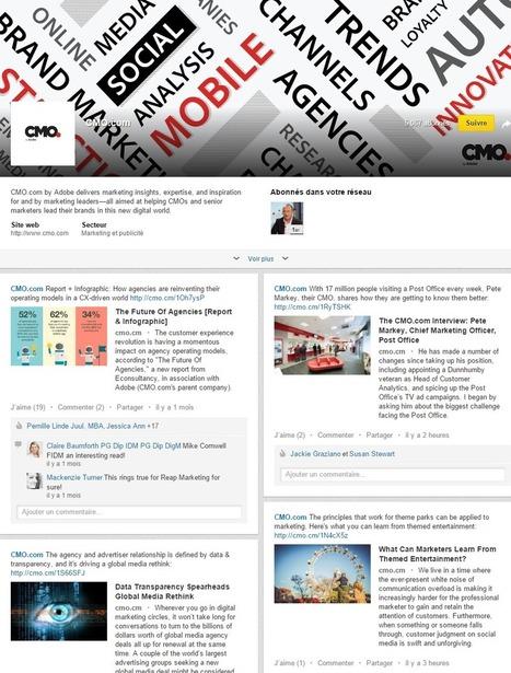 Comment bien communiquer sur sa page Linkedin ? La réponse avec Adobe! | Digital marketing strategy | Scoop.it