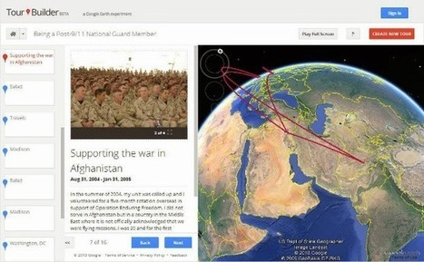 Google Earth Tour Builder lets you tell stories through maps | ICT Resources for Teachers | Scoop.it