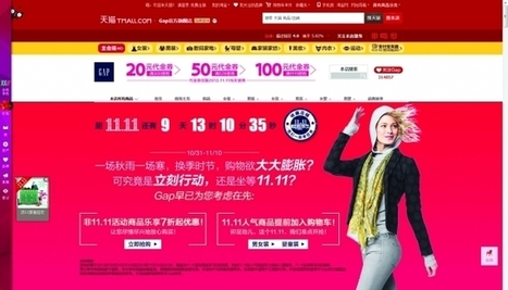 How Western Brands Are Tapping Into China's Crazy-Big E-commerce Holiday | Advertising in Eastern Asia | Scoop.it