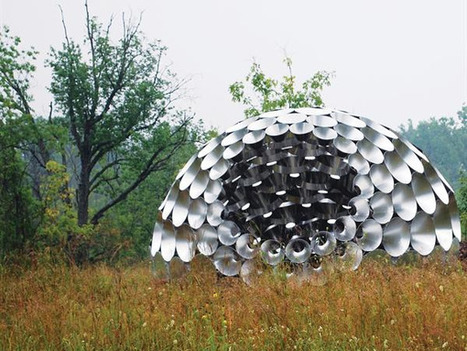 Shadow Pavilion Informed by Biomimicry   Biomimicry   Scoop.it