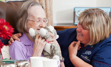 Care homes use 'doll therapy' for residents with dementia | elderly at home care | Scoop.it