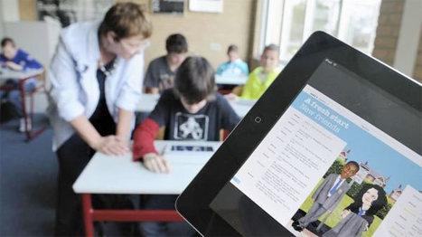 Tablet bezig met opmars in het onderwijs   Leer-netwerk   Scoop.it
