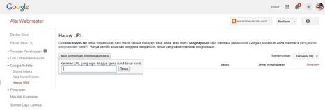 Cara Menghapus Postingan Blogger Permanen Tanpa Efek Broken URL - imuzcorner | imuzcorner | Scoop.it