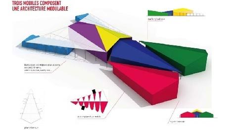 Et Beaubourg créa le mobile-home culturel. - L'espèce Vrbaine_ | Regards contemporains | Scoop.it
