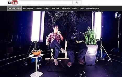 """Ouverture du premier """"YouTube Space"""" à Paris, High tech   web@home    web-academy   Scoop.it"""