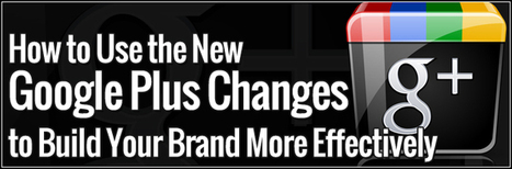 How to Use the New Google Plus Changes to Build Your Brand More Effectively   Sizzlin' News   Scoop.it