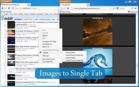 Img2tab, extensión de navegador para abrir todas las imágenes de una página en una nueva pestaña | Recull diari | Scoop.it