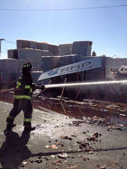 Large Watsonville fire destroys home, $1 million in packaging - Santa Cruz Sentinel   Moving Boxes   Scoop.it