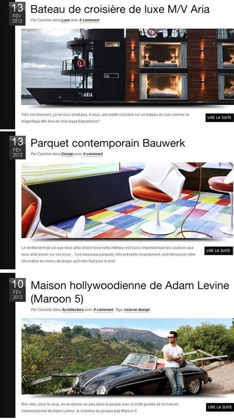 Décoratrice D'intérieur | Le Top des blogs maison | Architecte d'intérieur | Scoop.it