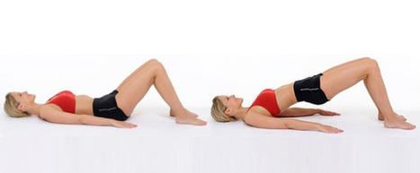 Butt Lift Bridge fitness exercise at home | Go Healthy Zone | Healthy Zone | Scoop.it