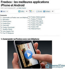 Freebox : les meilleures applications iPhone et Android | formation 2.0 | Scoop.it