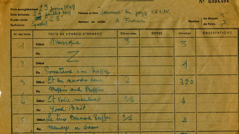 Le #jazz, une aventure radiophonique (1/2) : Les pionniers des années 40 - France Culture 53 mn #radio #Histoire #documentaire   Jazz and music   Scoop.it