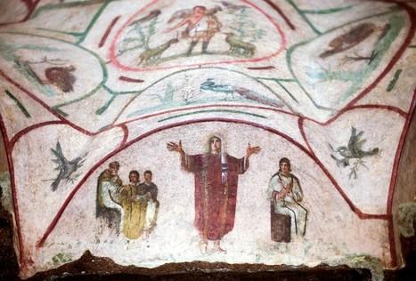 FAIT-RELIGIEUX   fr   Une fresque ravive au Vatican le débat sur les femmes prêtres   Vatican   catacombes   Priscille   femme   prêtre   ordination   femmes     Intervalles   Scoop.it