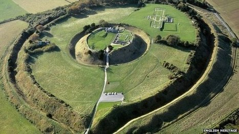 Old Sarum archaeologists reveal plan of medieval city - BBC News   Shallow Geophysics   Scoop.it