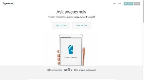 Typeform: Attractive forms for a better user experience | Ubiquitos Learning | Scoop.it