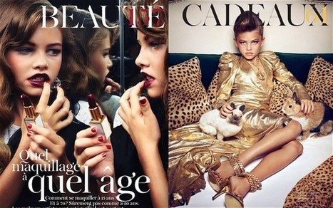 Underage models risk creating 'hyper-sexualised French Lolitas' | Herstory | Scoop.it