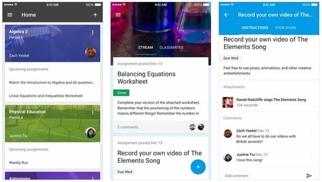 Google Launches Classroom Mobile Apps For Android And iOS | E-Learning - Lernen mit digitalen Medien | Scoop.it