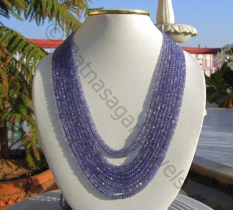 Tanzanite Gemstone Beads | Wholesale Gemstone Beads at Ratna Sagar Jewels | Scoop.it