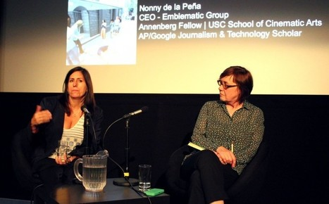 Nonny de la Peña on VR & 'immersive journalism' | Documentary Evolution | Scoop.it