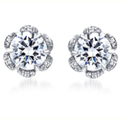 Diamond Stud Earrings for Women's by A.JAFFE | Ajaffe's Diamond Rings | Scoop.it