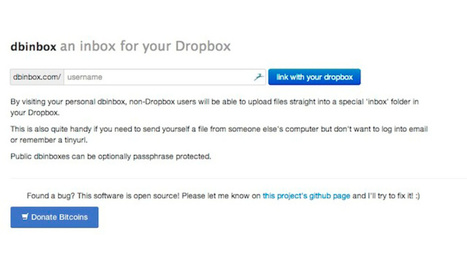 Dbinbox Gives Your Dropbox Account an Inbox Anyone Can Upload To | Ed-tech, Padagogy, and Classics Stuff | Scoop.it