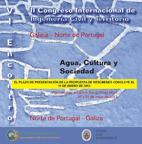 Unos 300 expertos debatirán en Vigo sobre 'Agua, cultura y sociedad' | Blog del Agua | Agua | Scoop.it