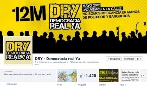 Creada nueva página Facebook de Democracia real YA! tras ... | #12M15M | Scoop.it