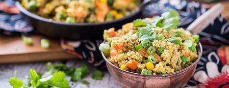 Quinoa Curry Bowl | Vegan Food | Scoop.it
