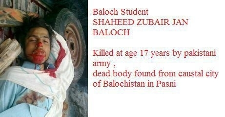 Shaheed Zubair Jan Baloch :  Martyr in Balochistan | Human Rights and the Will to be free | Scoop.it