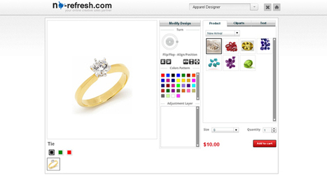Affordable iPad compatible jewellery designer tool | Online product design tool | Scoop.it