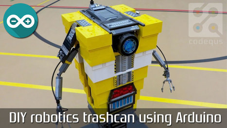 DIY robotics trashcan using Arduino | Arduino Focus | Scoop.it