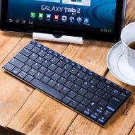 "Aluminum 10"" Bluetooth Wireless Mini Slim Keyboard for iPad/iPhone/Kindle/Galaxy | Onderwijs en ict | Scoop.it"