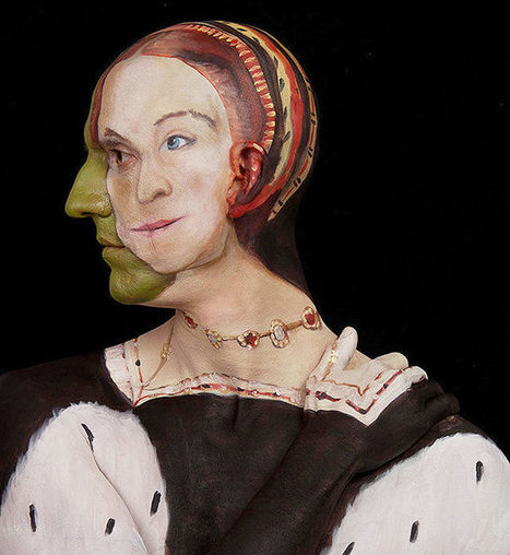 Classic Paintings Re-created On A Human Canvas | Body Painting | Scoop.it