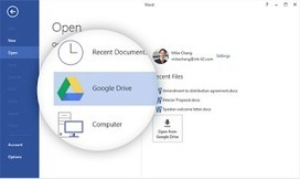 Google Released A New Plugin Integrating Google Drive with Microsoft Office ~ Educational Technology and Mobile Learning | Technology to Teach | Scoop.it