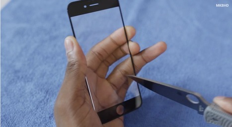 'iPhone 6' survives STAB ATTACK. Truly, it is the JESUS Phone | Apple in Business | Scoop.it