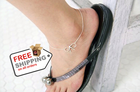Bracelet Anklet Jewelry for Simple Wild Women with Sweet Temperament   VERY INTERESTING Cool Stuff   Scoop.it