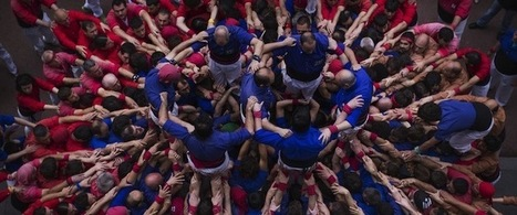 Barcelona's 'Human Tower' > Germany's 'Human Centipede' | Germany Topic Project | Scoop.it