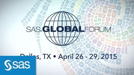 SAS Global Forum 2015 : Day 1 Recap - SportTechie | lIASIng | Scoop.it