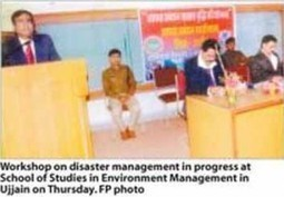Workshop on ' Disaster Management' kicks off - Free Press Journal | How To Attract Money, Health & Love? | Scoop.it