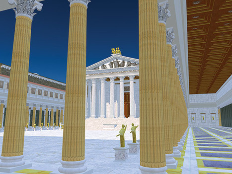Virtual Rome | History Today | Digital Humanities and Higher Ed | Scoop.it